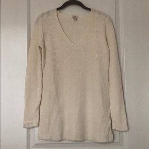 J. Crew Factory V Neck Pullover Sweater